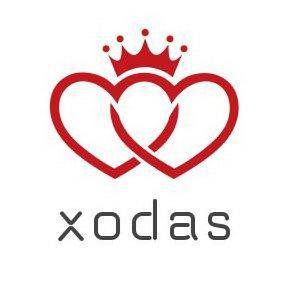 Xodas hearts crown logo