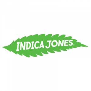Indica Jones leaf logo